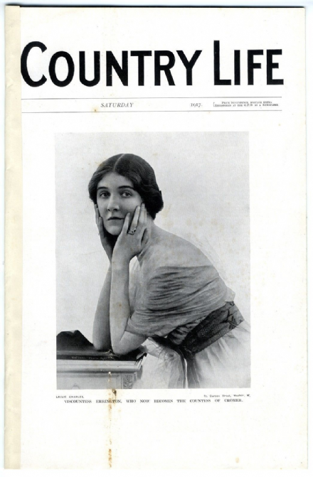 1917 COUNTRY LIFE Magazine RUBY BARING CROMER High Chimneys Windlesham WW1 (9401)
